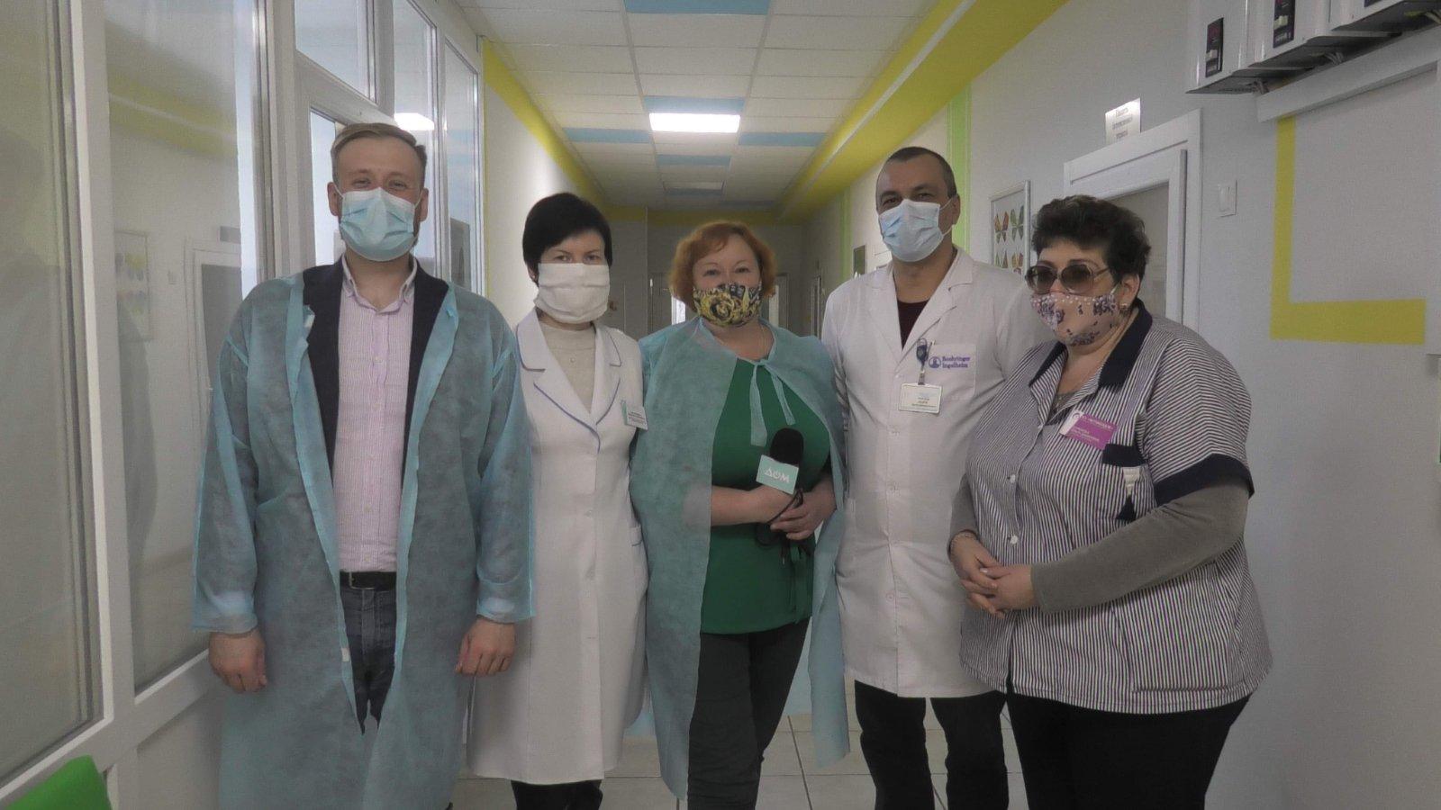 Транскутанний білірубінометр для недоношених малюків із медзакладу «Здоров'я дитини та жінки», м. Маріуполь