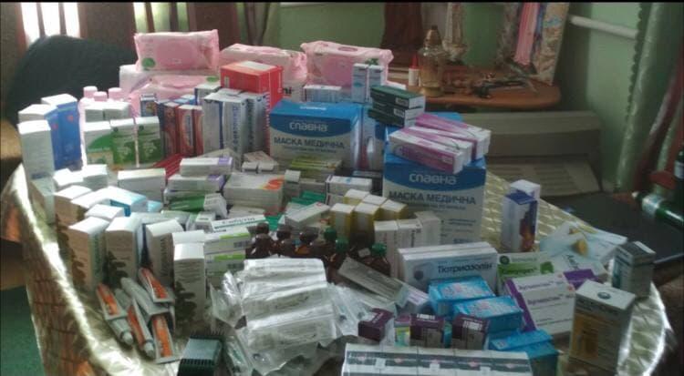 Продукти харчування, ліки та засоби гігієни для людей літнього віку та людей з інвалідністю, м. Хоростків